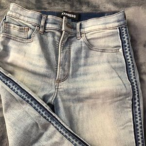 Express light wash jeans